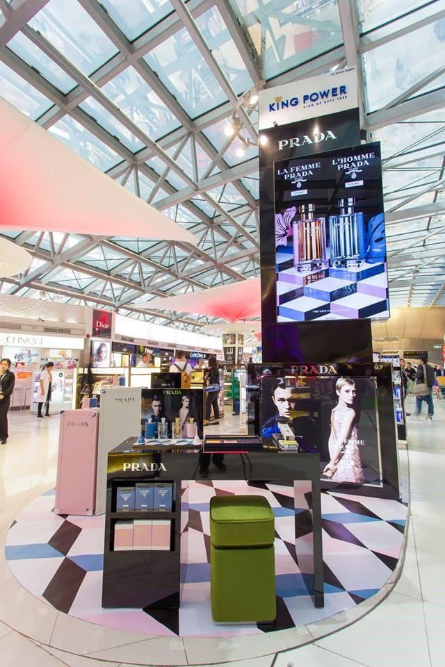 Prada new product lounge at Thai